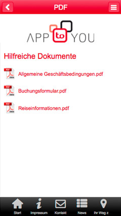 PDF-Upload im App-Baukasten